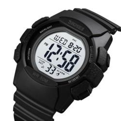 Reloj NAVIFORCE Militar Samurai 9022 Multifunción Seiko – Negro Rojo